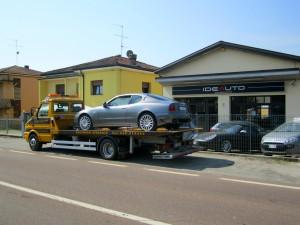 Soccorso stradale a Nonantola H24. Sede Idea Auto con carroattrezzi e Maserati
